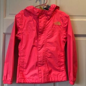 The North Face girls waterproof jacket